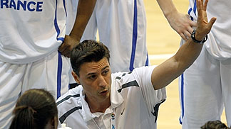 France Head Coach Gregory Halin