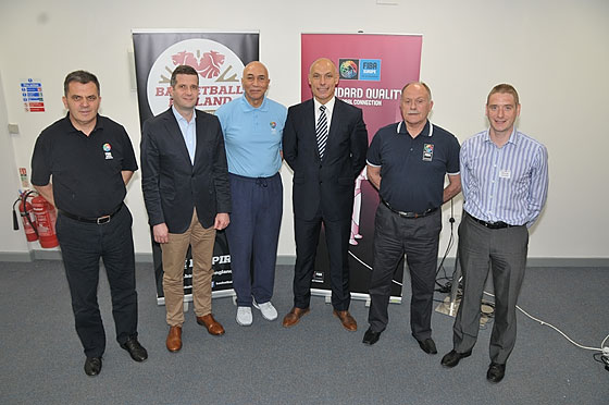 Davorin Nakic; Basketball England Technical Director Vladan Dragosavac; Former Director of NBA Officiating Ronnie Nunn; FIFA World Cup Final Referee Howard Webb; Alan Richardson; Basketball England Officiating Development Officer Simon Unsworth