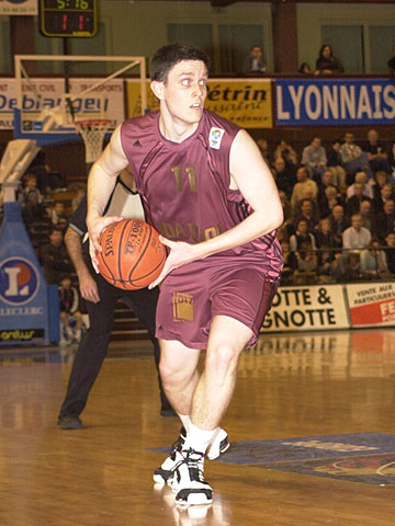 Mathieu Evert (JDA Dijon Basket)