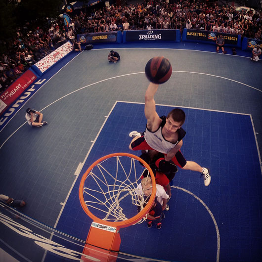 And, of cource, the dunk contest