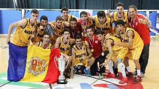 Gold medal winners Andorra