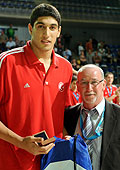 Tournament MVP Enes Kanter