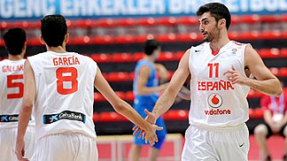 8. Marc Garcia (Spain), 11. Jose Jimenez (Spain)