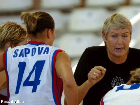 Time out - the Russian Coach Galina Voronina