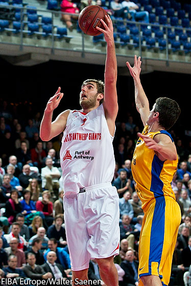 5. Yannick Driesen (PO Antwerp Giants)