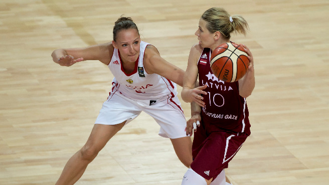 Historic Win Keeps Latvia In Contention