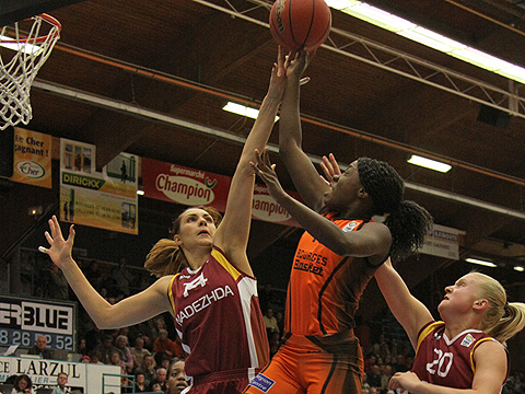 10. Carine Paul (Bourges Basket)