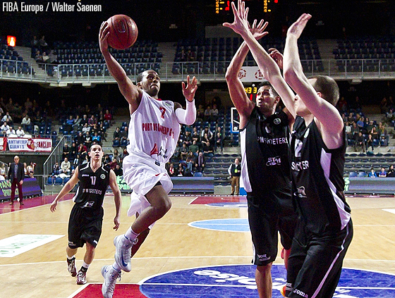 7. Frank Turner (PO Antwerp Giants)