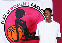 Donette Snow at the 2006 Italian Womens League All-Star Game