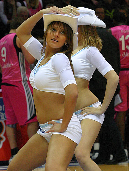 Cheerleaders of Belgacom Liege