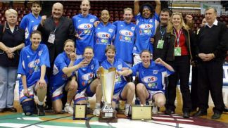Winner of the FIBA Europe Cup Women 2004: Baltiyskaya Zwezda (RUS)