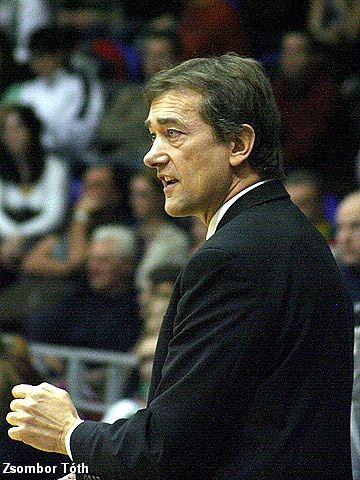 Pierre Vincent (Head Coach Bourges Basket)