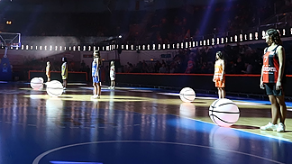 Opening Ceremony of the 2014 EuroLeague Women Final Eight