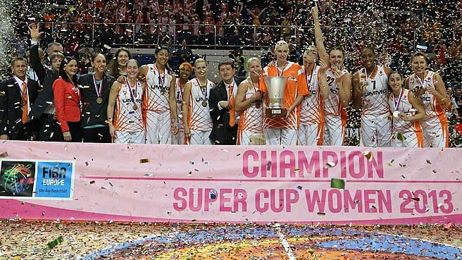 UMMC Win Women's SuperCup