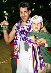1995 EuroLeague Final Four MVP Joe Arlauckas (Real Madrid)