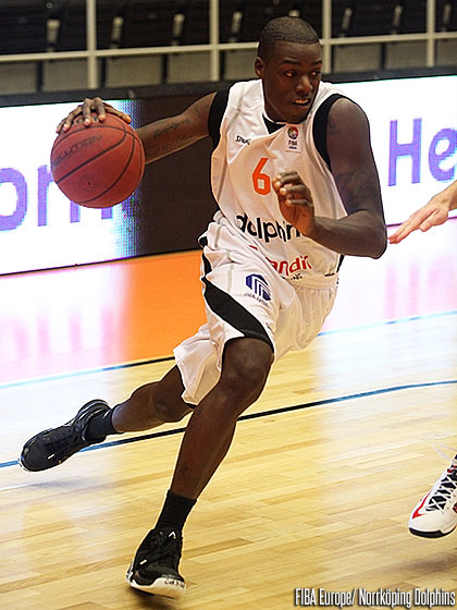 6. Keith Gabriel (Norrköping Dolphins)