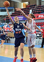 11. Melisa Brcaninovic (Bosnia and Herzegovina)