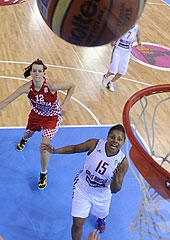 12. Dominique Allen (Great Britain), 15. Stephanie Gandy (Great Britain), 12. Iva Sliskovic (Croatia)