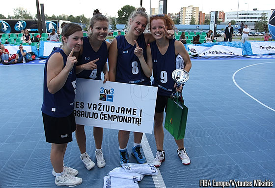 FIBA Europe 3on3 in Vilnius, Lithuania - 18 August 2012