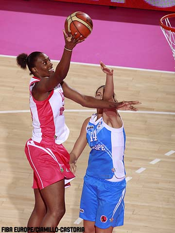 15. Sylvia Fowles (Rest of the World)