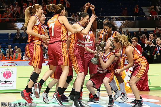EuroLeague Women 2014 Champions Galatasaray odeabank