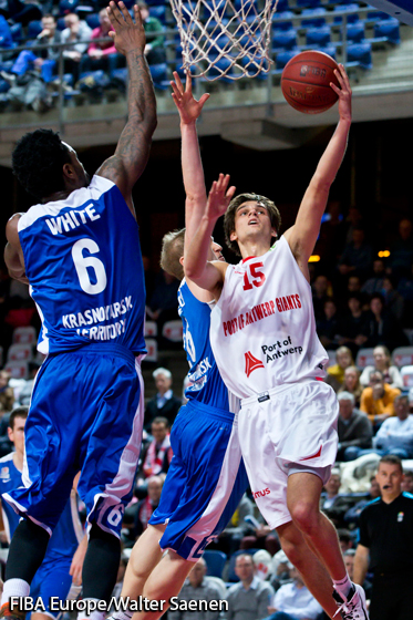 15. Dorian Marchant (Antwerp Giants)