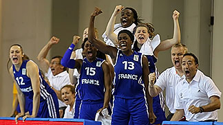 13. Marie Mané (France), 15. Awa Sissoko (France)
