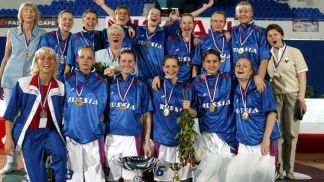 Russia are European Champions for the third successive time