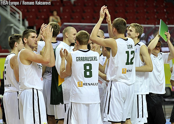 Lithuania finish in 5th place at the U18 European Championship