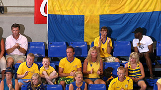Swedish supporters
