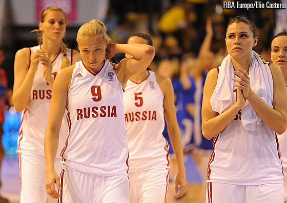Russia still wait for their first win in Group B after falling to Sweden on game day two