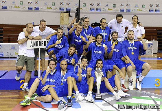 Andorra win their first European Championship Small Countries Men title since 2004