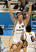Dirk Nowitzki and the German team