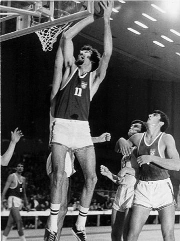 Kresimir Cosic (YUG) at the 1971 European Championship in Germany