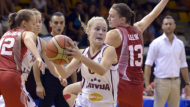 Latvia Hold Off Hosts To Take 5th