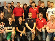 Referees who participated in a clinic during the Nordic Championship for U16 and U18 Men and Women