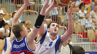 Dragan Labovic (Serbia) and Andrey Vorontsevich (Russia)