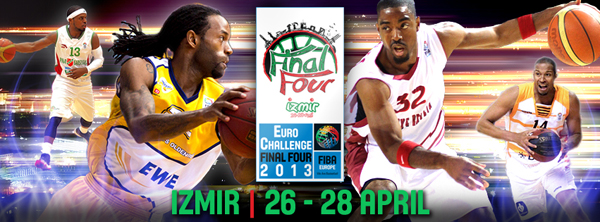 EuroChallenge Final Four 2013 graphic