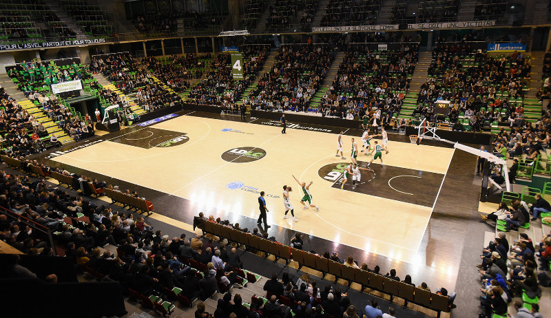 Astroballe, home arena of ASVEL Basket
