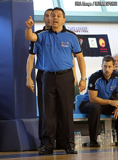 Greece head coach George Dikeoulakos