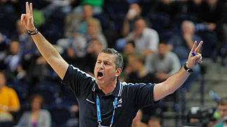 Greece Head Coach Ilias Zouros