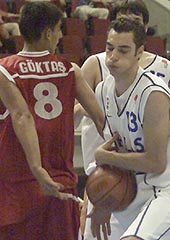Petros Noeas (Greece) and Murat Göktas (Turkey)