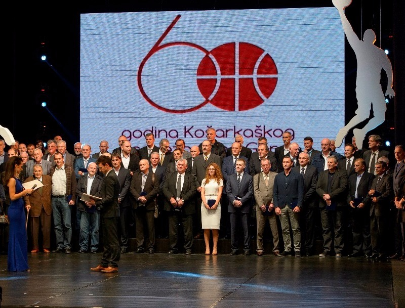 Montenegro Prime Minister and Basketball Federation Celebrates its 60th Anniversary