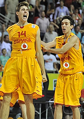 Juan Hernangomez made the game-winning three for Spain with 2.6 left to play