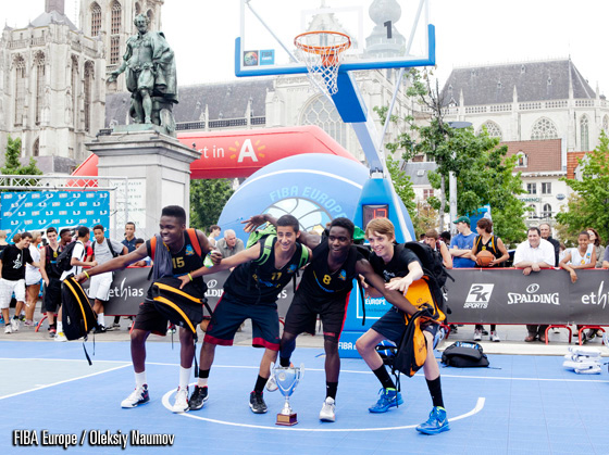 And maybe youll someday be a part of the Ball is Life team - the winners of U15 Boys division