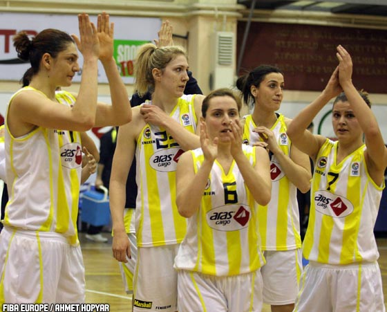 Fenerbahce players