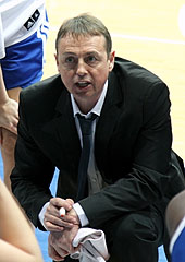 BLMA head coach Valéry Demory