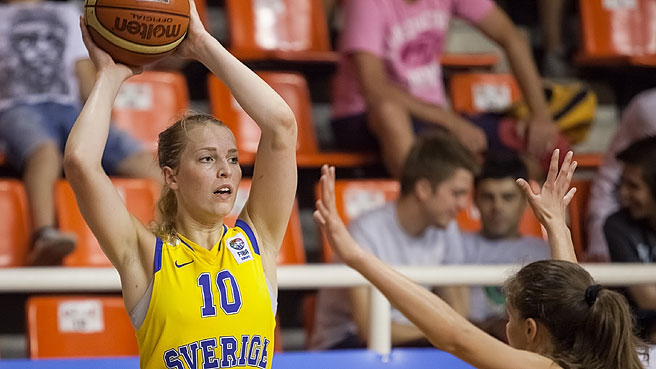 Ellen Nyström Leads Sweden Survival