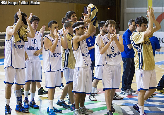 Andorra clinch the bronze medal at the U18 European Championship Division C