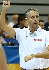 Georgia headcoach Igor Kokoskov